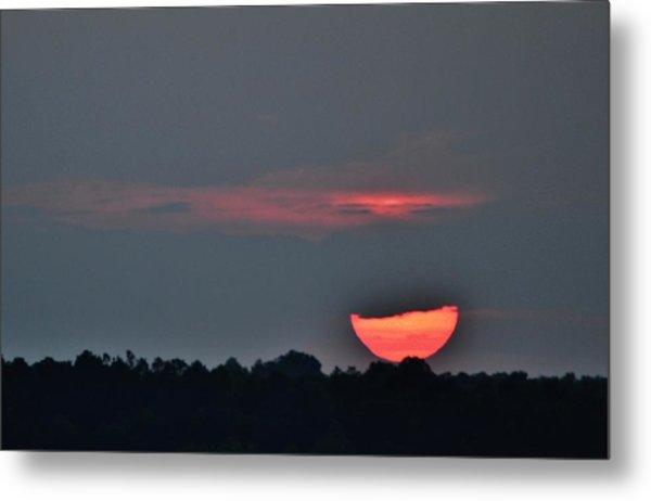 Sun Going Down Metal Print