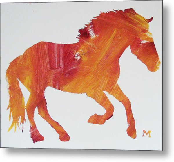 Sun Horse Metal Print