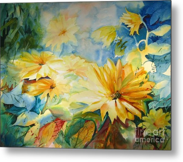 Sun-kissed Metal Print