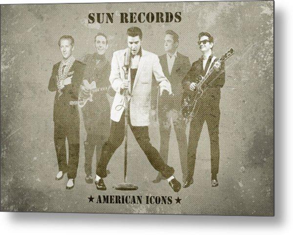 American Icons - Sun Records Metal Print