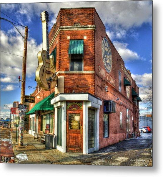 Sun Studio Rock N Roll Birthing Place Memphis Tennessee Art Metal Print