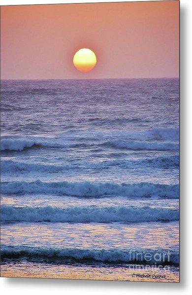 Sun To Sea Metal Print