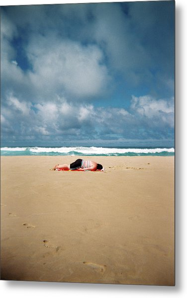 Sunbather Metal Print