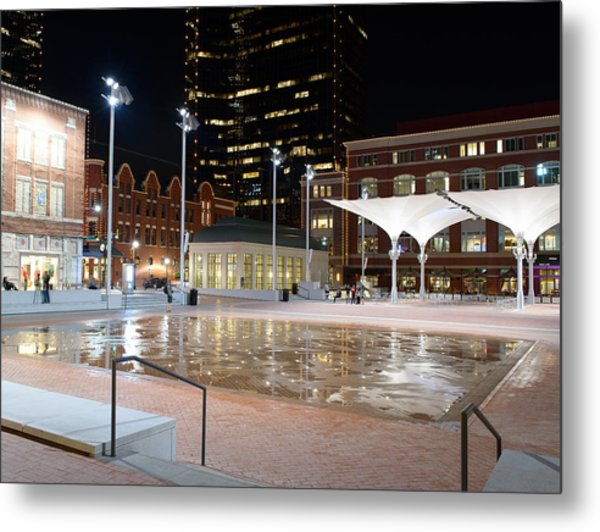 Sundance Square Fort Worth 3 Metal Print