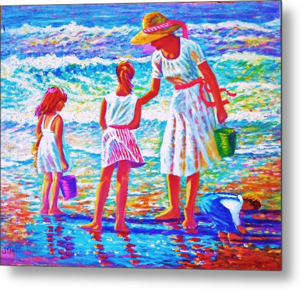 Sunday Afternoon At The Beach Metal Print