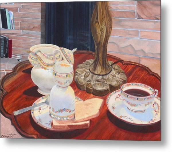 Sunday Breakfast Metal Print