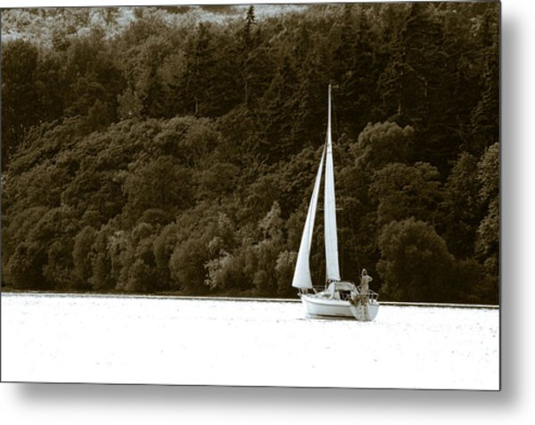 Sunday Sailor Metal Print by Andy Smy