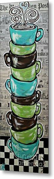 Sundays Cup A Joe Dark Roast Metal Print