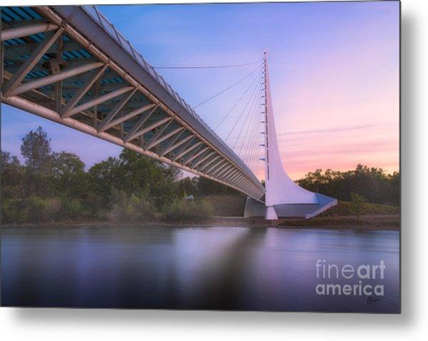 Sundial Bridge 6 Metal Print