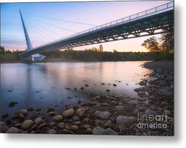 Sundial Bridge 7 Metal Print