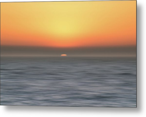 Metal Print featuring the photograph Sundown by Philip Rodgers