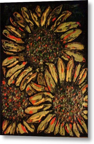 Sunflower Metal Print by David Sutter
