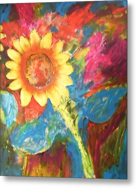 Sunflower Song Metal Print