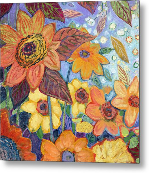 Sunflower Tropics Part 1 Metal Print