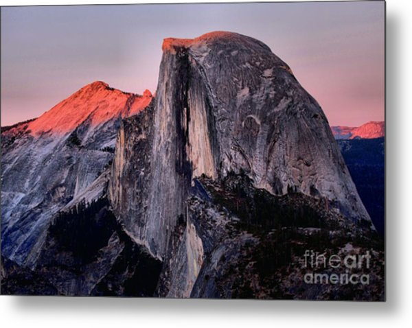 Sunkiss On Half Dome Metal Print