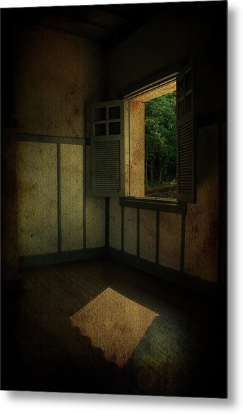 Sunlight Onto The Floor  Metal Print by Valmir Ribeiro