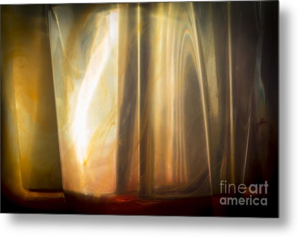 Sunny Abstract Metal Print