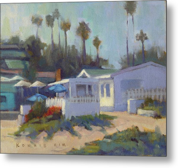 Sunny Day At Crystal Cove Metal Print