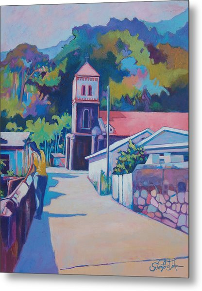 Sunny Soufriere Metal Print