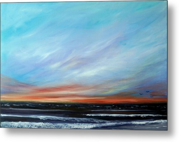 Sunrise And The Morning Star Eastern Shore Metal Print