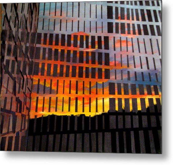 Sunrise Metal Print by Art Nomad Sandra  Hansen