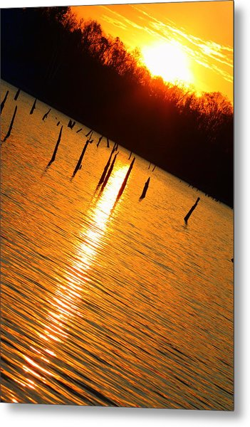 Sunrise At East Fork Oh Metal Print