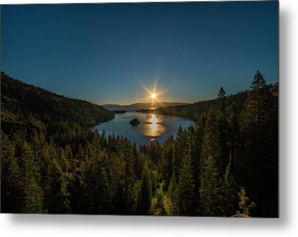 Sunrise At Emerald Bay Metal Print
