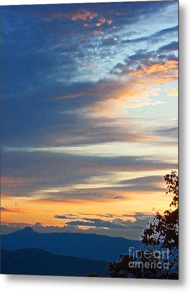Sunrise At Flatrock Metal Print by Beebe  Barksdale-Bruner