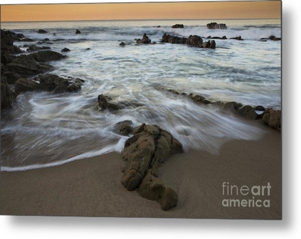 Sunrise At Laguna Beach Metal Print
