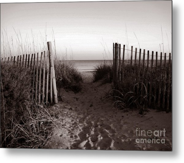 Sunrise At Myrtle Beach Sc Metal Print