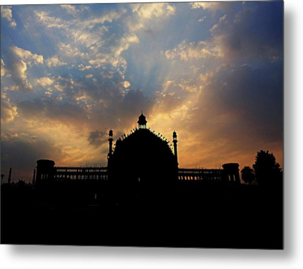 Sunrise At Rumi Gate Metal Print
