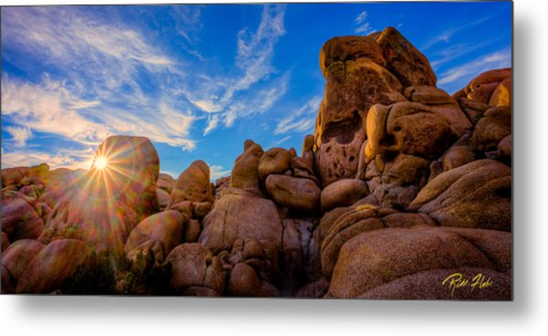 Sunrise At Skull Rock Metal Print