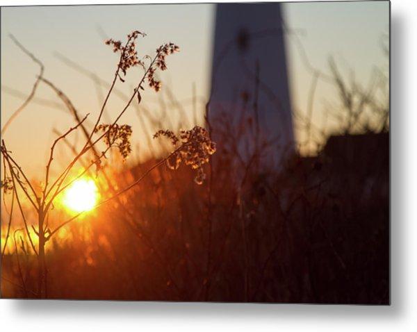 Sunrise Backlight Metal Print