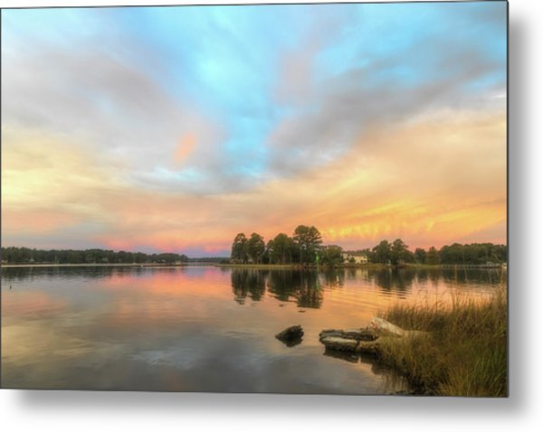 Sunrise, From The West Metal Print