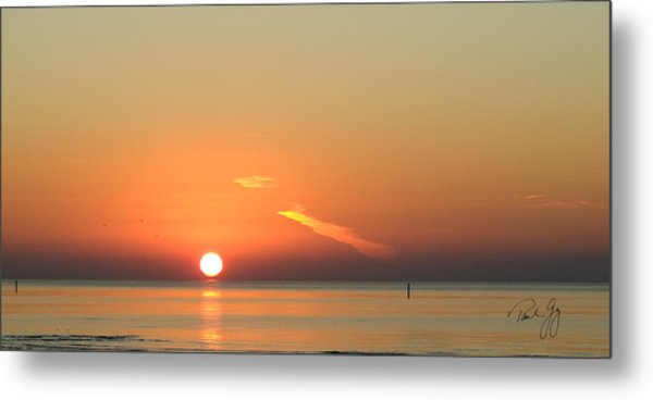 Sunrise Gulfport Mississippi Metal Print