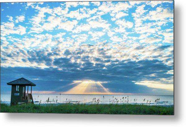 Sunrise Hope Delray Beach Florida Metal Print