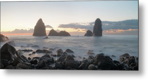 Sunrise In Aci Trezza, Sicily Metal Print