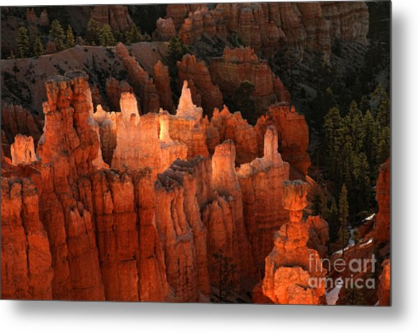 Sunrise In Bryce 6 Metal Print