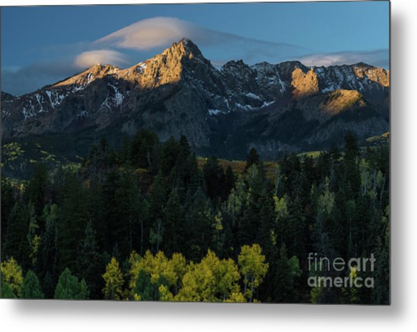 Sunrise In Colorado - 8689 Metal Print