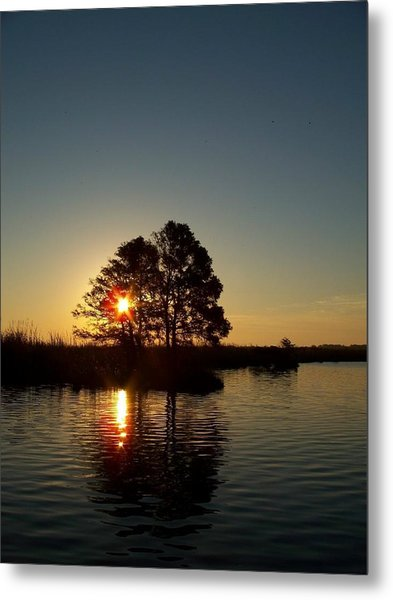 Sunrise In Moyock Nc Metal Print