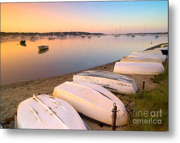 Sunrise In Osterville Cape Cod Massachusetts Metal Print