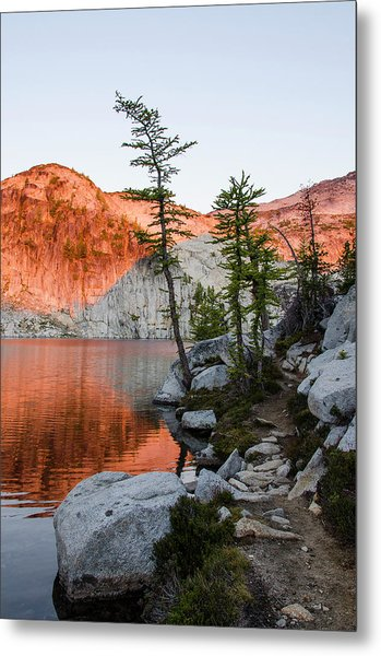 Sunrise In The Enchantments Metal Print