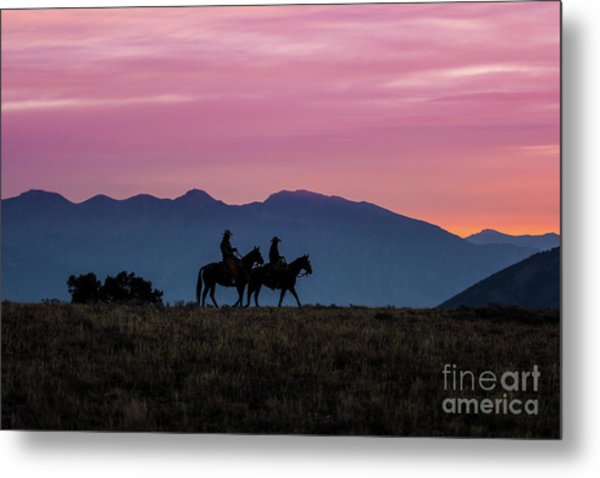 Sunrise In The Lost River Range Wild West Photography Art By Kay Metal Print