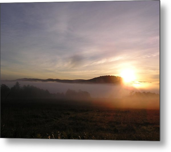 Sunrise Metal Print by Jashobeam Forest