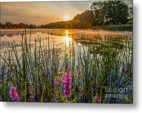 Sunrise Kent Lake Metal Print
