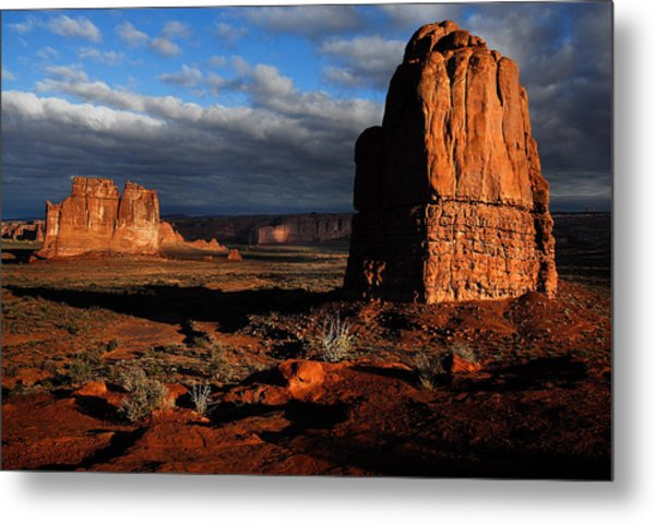 Sunrise La Sal Mountains Metal Print