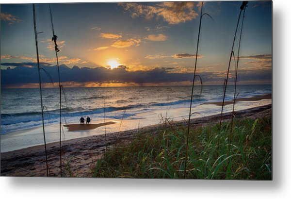 Sunrise Love Metal Print