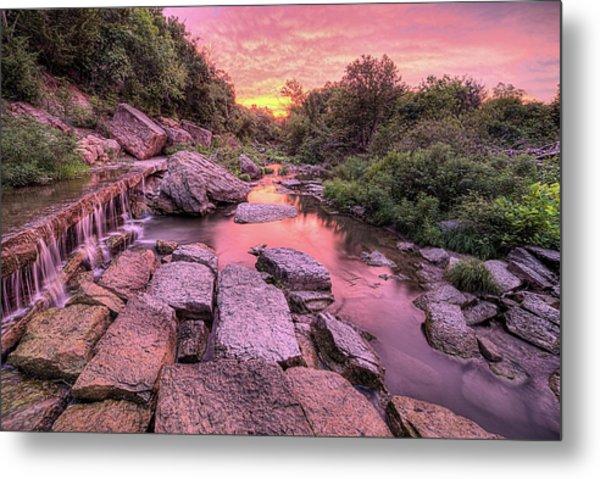 Sunrise On Deep Creek Metal Print by JC Findley