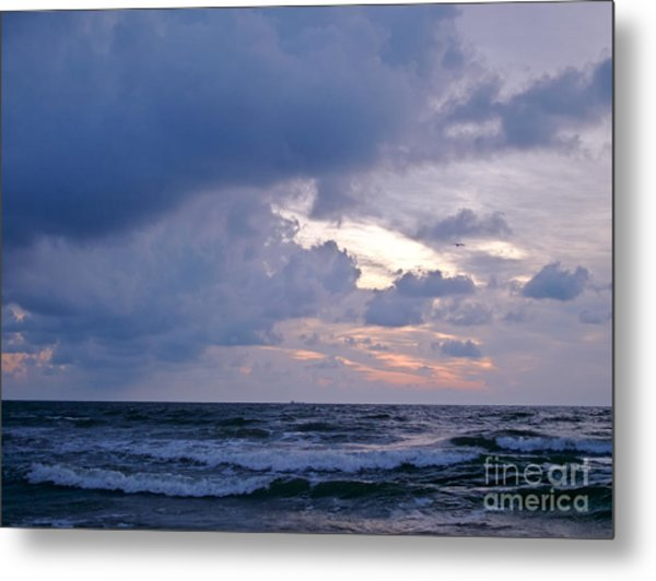 Sunrise On The Atlantic Metal Print