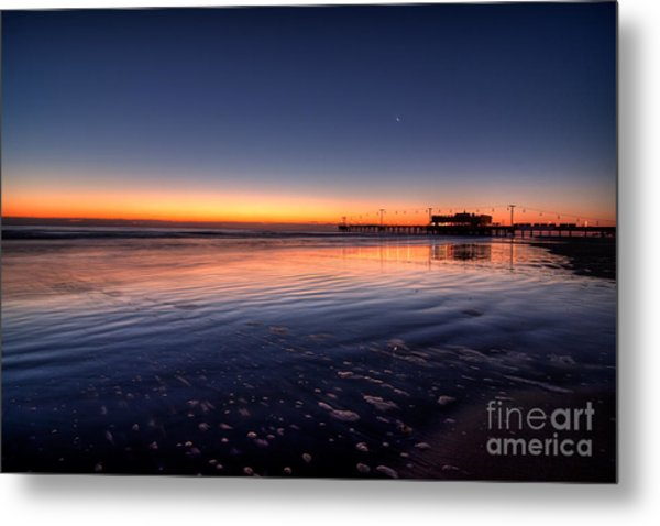 Sunrise On The Beach Metal Print by Michael Herb